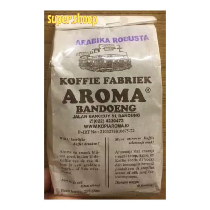 Kopi aroma mix arabika robusta 250 gr koffie fabriek aroma bandung