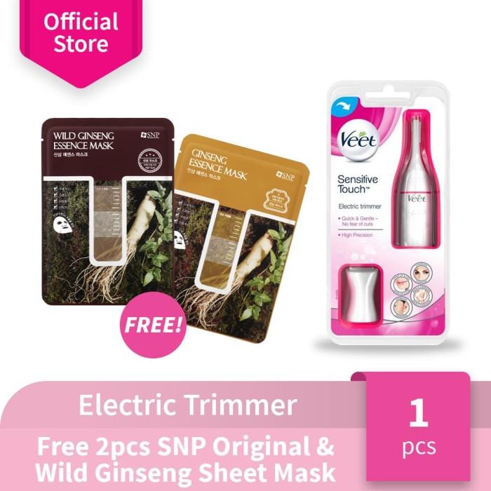 harga Veet electric trimmer - free 2pcs snp wild & original ginseng mask Tokopedia.com