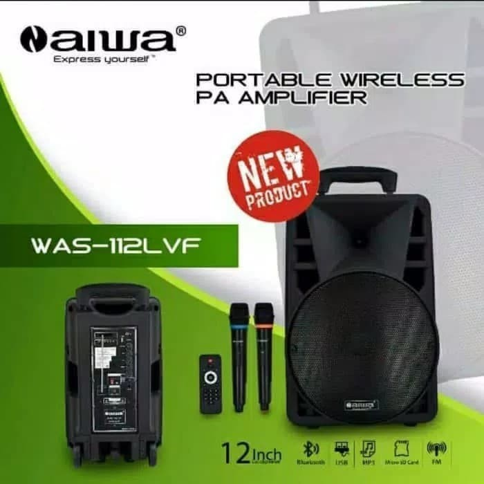 harga Speaker portable meeting wireless toa aiwa was-112lvf 12 inch Tokopedia.com