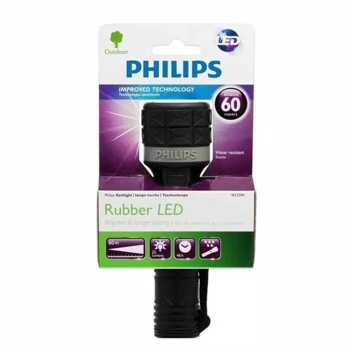 senter PHILIPS SFL5200 rubber led 60m