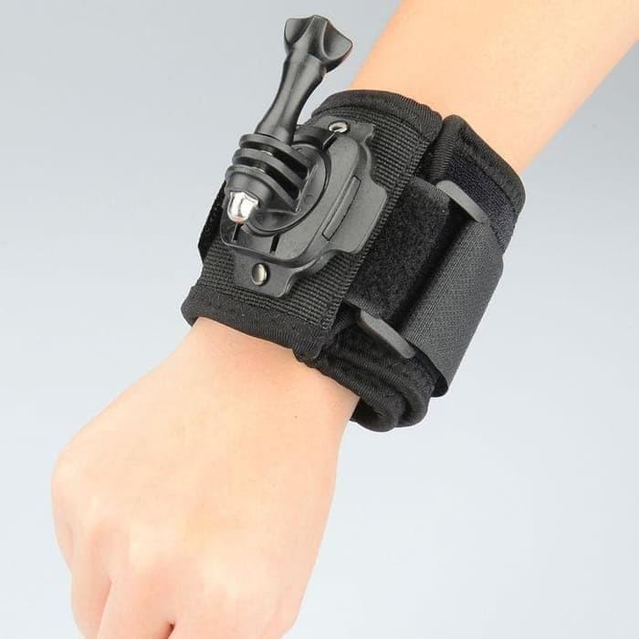 Action Cam 360 Degree Wrist Strap Brica - SJCAM - Gopro.Strap Tangan