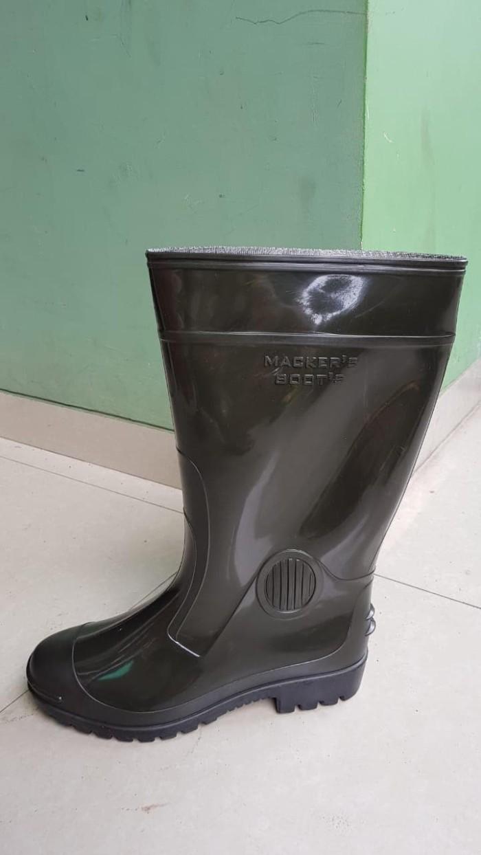 Jual Sepatu Boot Mackers Oranye Hitam No 39 43 Kota Tangerang Nahkoda Plastik