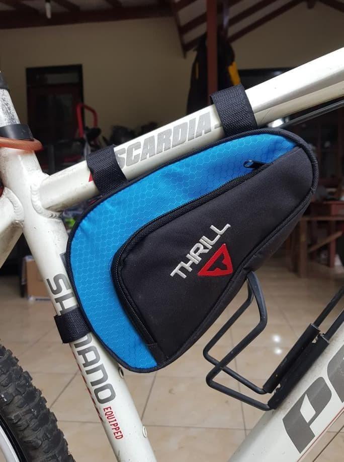 Jual Tas Sepeda Segitiga Frame Thrill Aksesoris Multitool Mtb Kota Malang Multhyport Tokopedia