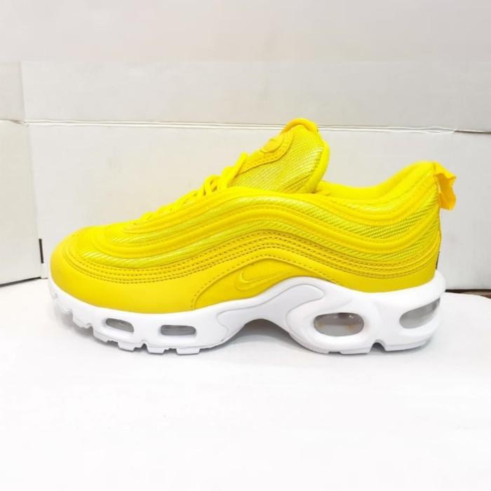 Jual Sepatu Nike Air Max 97 Plus TN Yellow White DKI Jakarta COGITO STORE | Tokopedia
