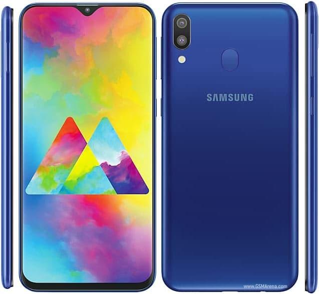 Samsung galaxy m20 ram 3gb internal 32gb garansi resmi - biru