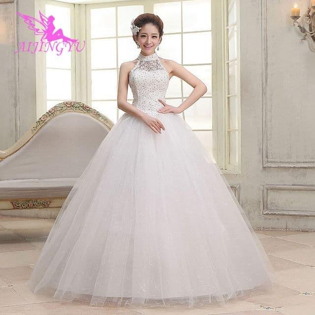 Jual Wedding Dress Turtle Neck Viasen Tokopedia