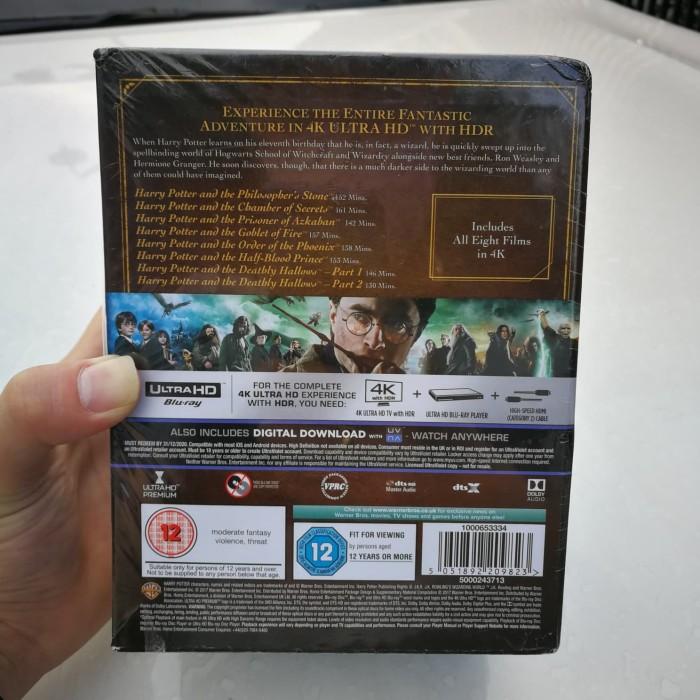 Jual Blu-ray 4K Harry potter 8 film collection bluray original - DKI  Jakarta - Bluray 4K | Tokopedia