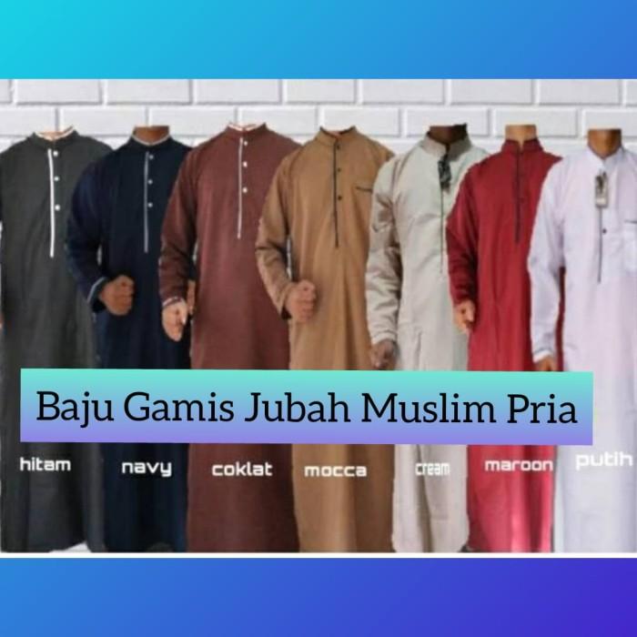 Jual Baju Koko Muslim Pria Arabia Gamis Ikhwan Jumbo Bigsize Lelaki Navi Kota Bandung Sarung Tenun Bandung Tokopedia