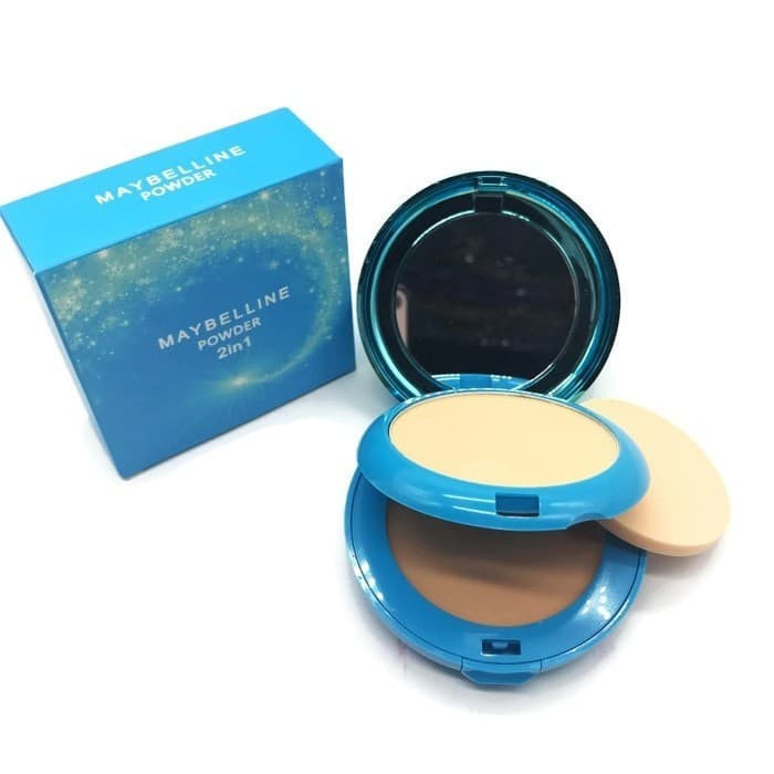 Bedak MAYBELLINE - Affinitone 2in1 Super Stag 7 Day Powder +foundation