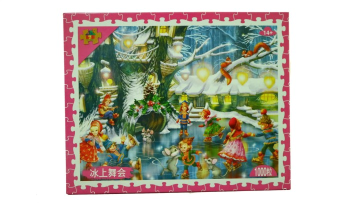 harga Jeikick jigsaw puzzle - happiness in winter - 1000 pcs Tokopedia.com