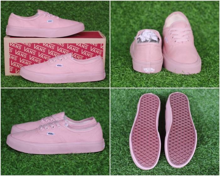 Jual sepatu vans authentic rose pink premium bnib waffle ifc icc dt Merah Muda, 40 Kab. Bandung RR_Shoes | Tokopedia