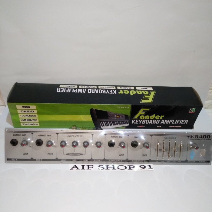 harga Kit amplifier keyboard fander kb-400 type 818 Tokopedia.com