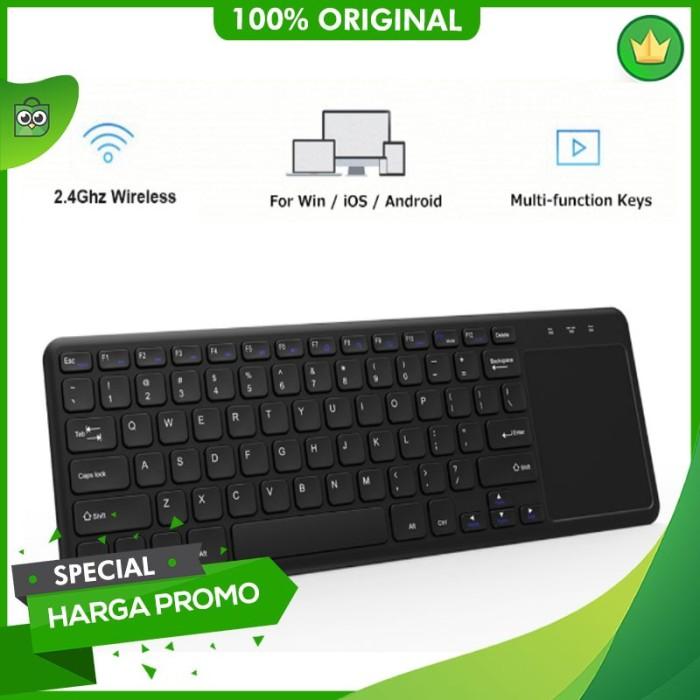 Jual Premium Keyboard Wireless dengan Touchpad / smart tv / samsung / LG -  DKI Jakarta - Haruka Lingerie | Tokopedia