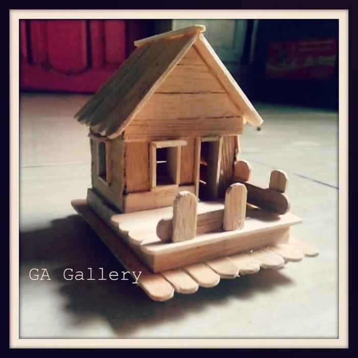 Jual Rumah Stik Es Krim Jakarta Barat Gubuk Gallery Tokopedia