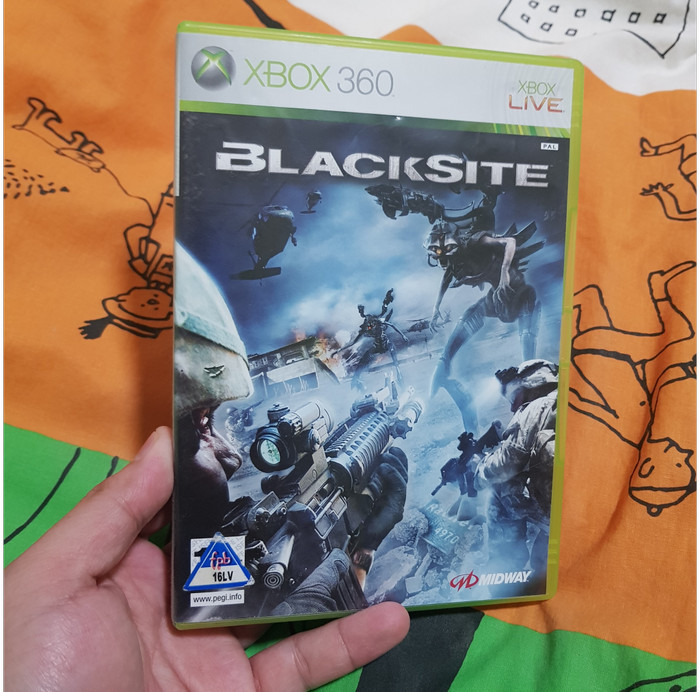 Foto Produk Blacksite (Xbox 360, PAL) dari Jual Game Xbox