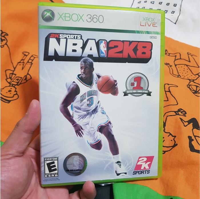 Foto Produk NBA 2K8 (Xbox 360, 2007, NTSC) dari Jual Game Xbox