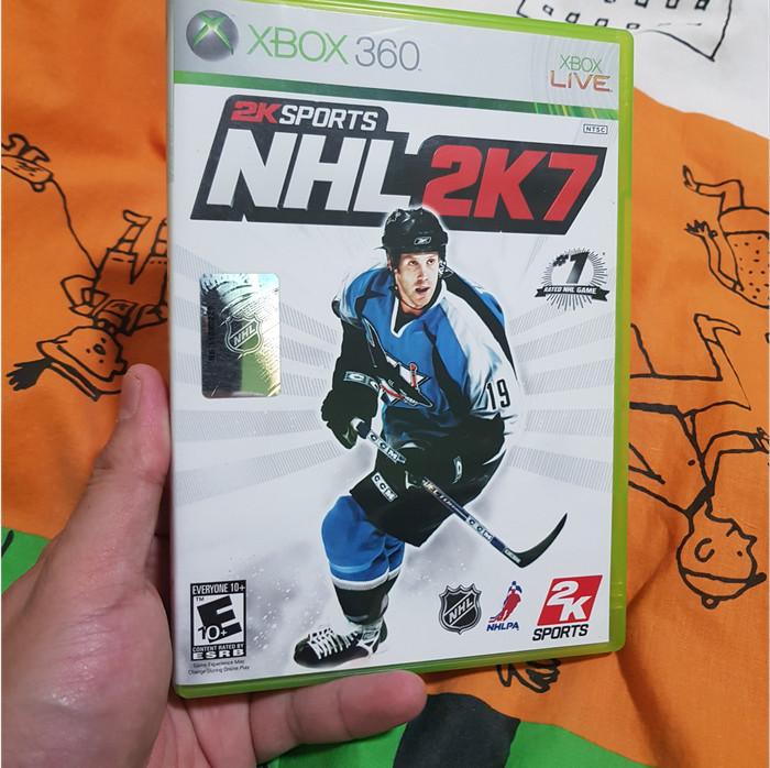 Foto Produk NHL 2K7 (Xbox 360, 2006, NTSC) dari Jual Game Xbox