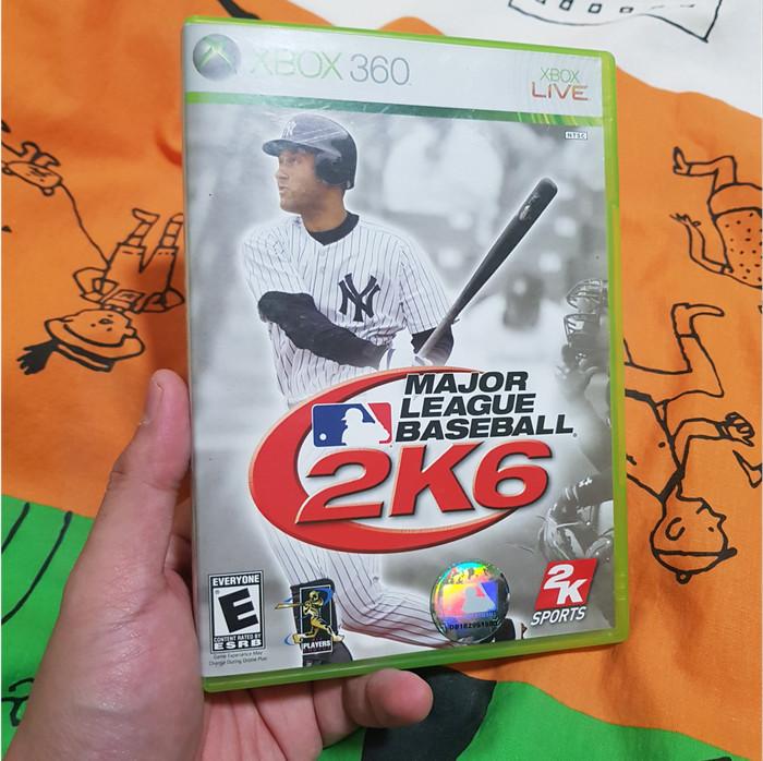 Foto Produk Major League Baseball 2K6 (Xbox 360, 2006, NTSC) dari Jual Game Xbox