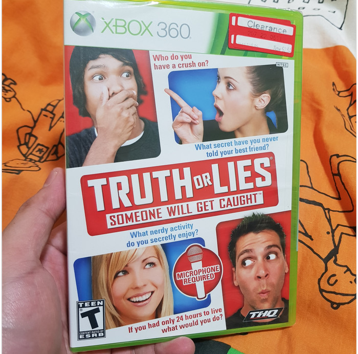 Foto Produk Truth or Lies (Xbox 360, 2010, NTSC) dari Jual Game Xbox