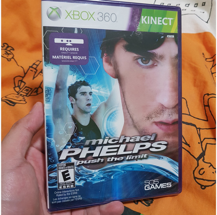 Foto Produk Michael Phelps: Push the Limit (Xbox 360, 2011, NTSC) dari Jual Game Xbox