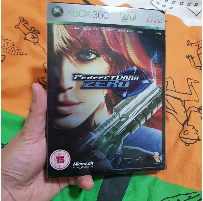 Foto Produk Perfect Dark Zero Limited Collectors Edition Steelbook (Xbox 360) dari Jual Game Xbox