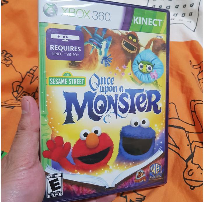 Foto Produk Sesame Street: Once Upon A Monster (No Region Protect) dari Jual Game Xbox