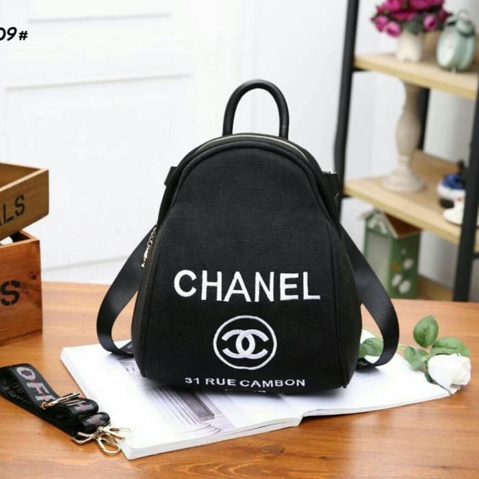b1f486ef3f43 Jual Toserba PM007 Chanel 31 Rue Cambon Backpack Multy Fungsi ...
