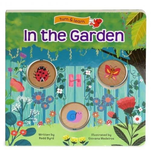 harga In the garden: turn & learn by redd byrd Tokopedia.com