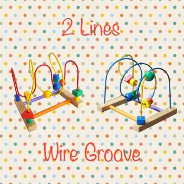 Foto Produk Mainan Edukasi 2 lines Wire Groove dari gallerytoyskid