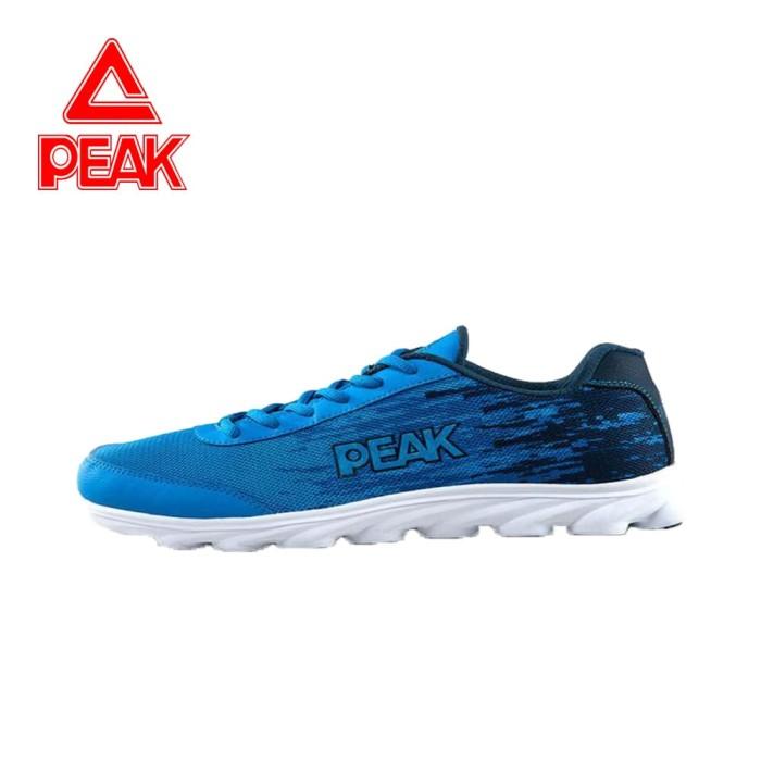 Peak Sepatu Running Peak Original E51058h Blue - 38