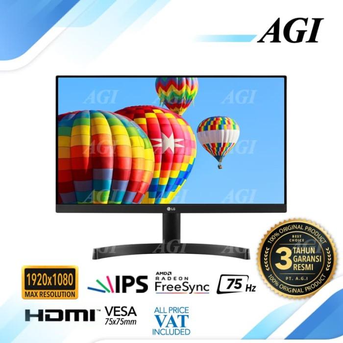 "harga Monitor led lg 24mk600 23.8"" full hd borderless ips Tokopedia.com"