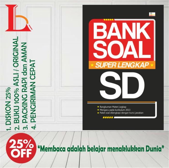 Jual Bank Soal Super Lengkap Sd Kota Yogyakarta Laksana Buku Tokopedia