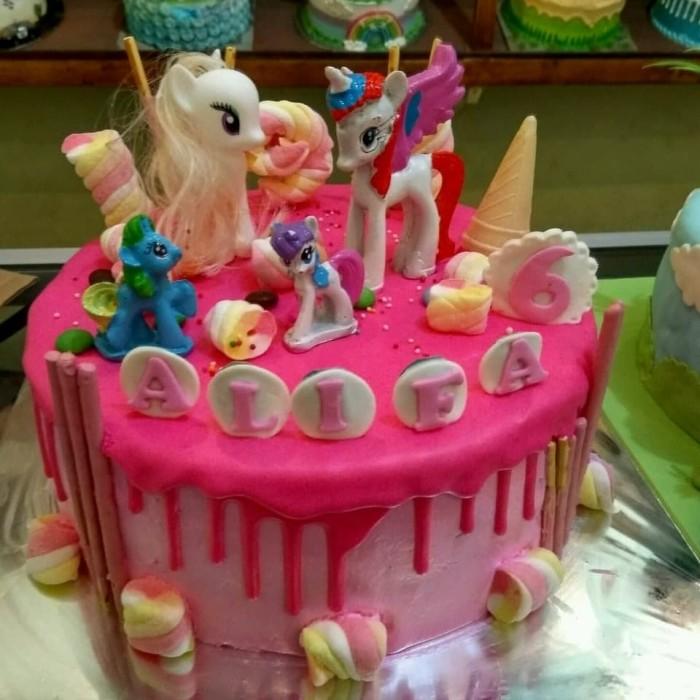 Jual Kue Ultah Anak Little Pony Buttercream Kota Bekasi Chars Cake Shop Tokopedia