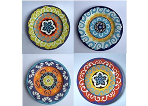 Foto Produk Lepek|tatakan|kanape motif export|Piring hias|Nador dari GALAXY HouseholdCeramics