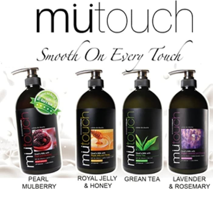 KOSMETIK ONLINE SHOP - Mutouch Goat's Milk Shower Cream