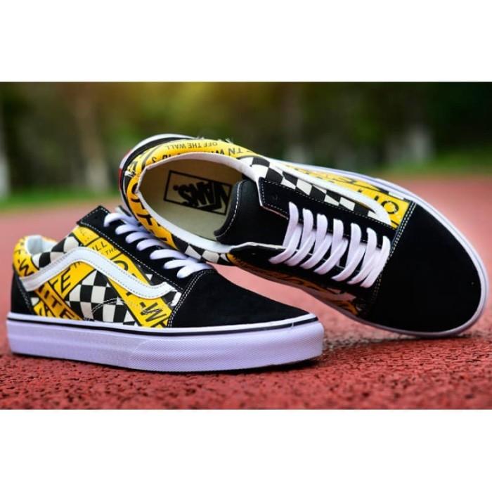 Jual Sepatu Vans Off The Wall Sneakers