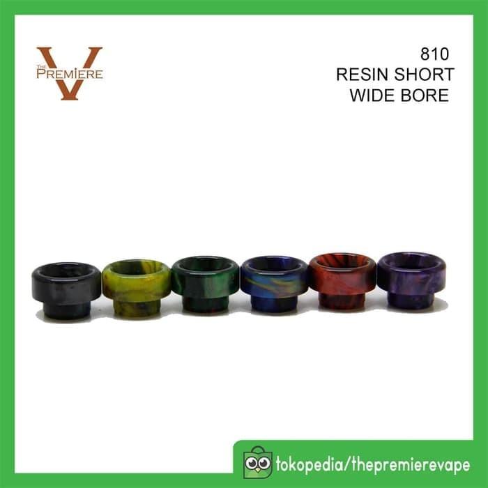 Foto Produk Drip Tip Wide Bore Short 810 Fit Druga Artha Goon | DripTip Rendah dari putra.rak4