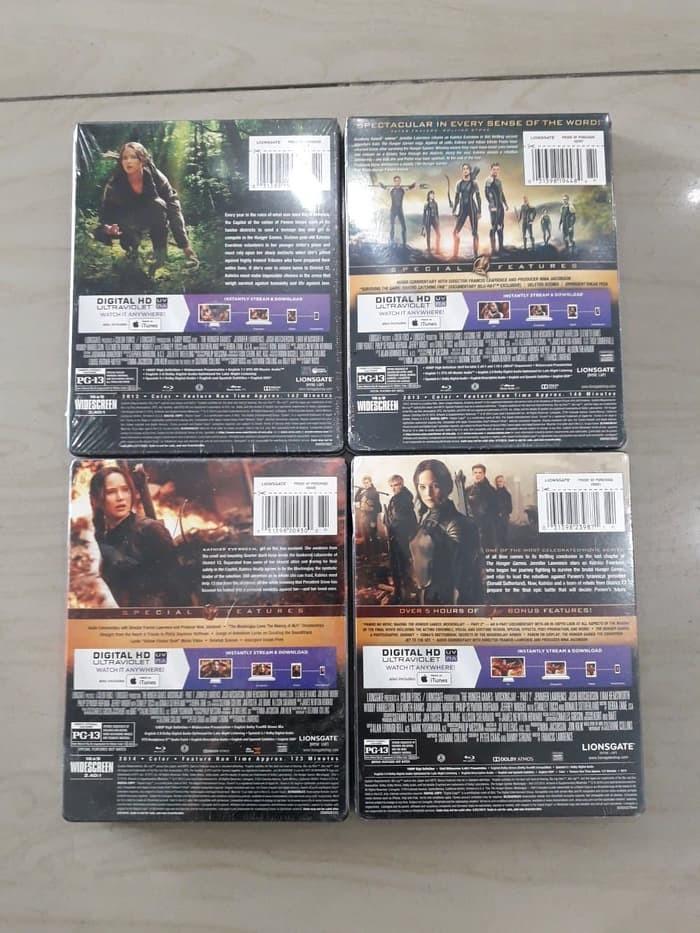 Jual Blu Ray Original The Hunger Games 1 4 Steelbook Rilisan Best Buy Usa Kota Medan Toko 98 Tokopedia