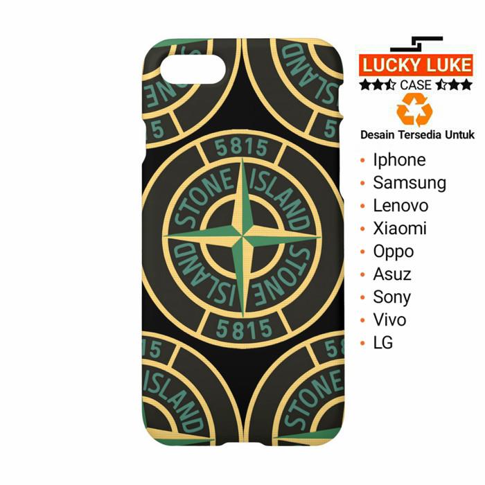 detailed look b552c dd832 Jual Stone Island case Redmi Note 7 Samsung s9 Oppo Find X iPhone 8 XS Max  - Jakarta Pusat - Lucky Luke Case | Tokopedia