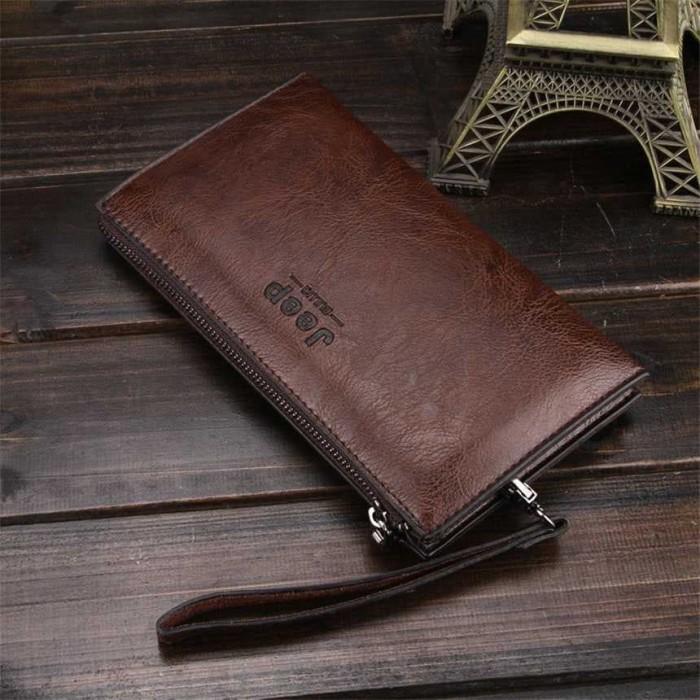 Jual Tas tangan Dompet pria impor JEEP BULUO (banyak slot c554156a46