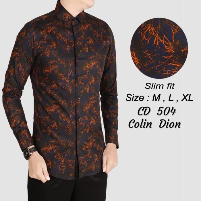 Kemeja Batik Batik Pria Slim Fit Kemeja Slimfit Of63 - diskon Produk ... 7a27f503ea