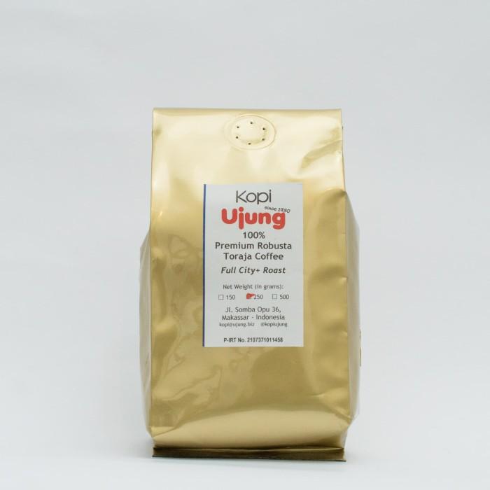 Kopi ujung robusta toraja premium 250 gram