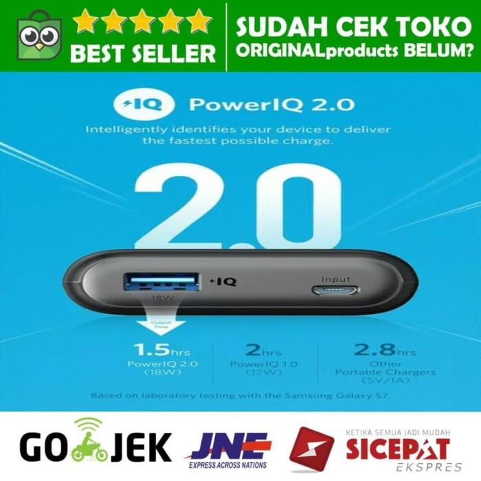 Powerbank anker powercore speed 10.000mah quick charge 3.0 qualcomm