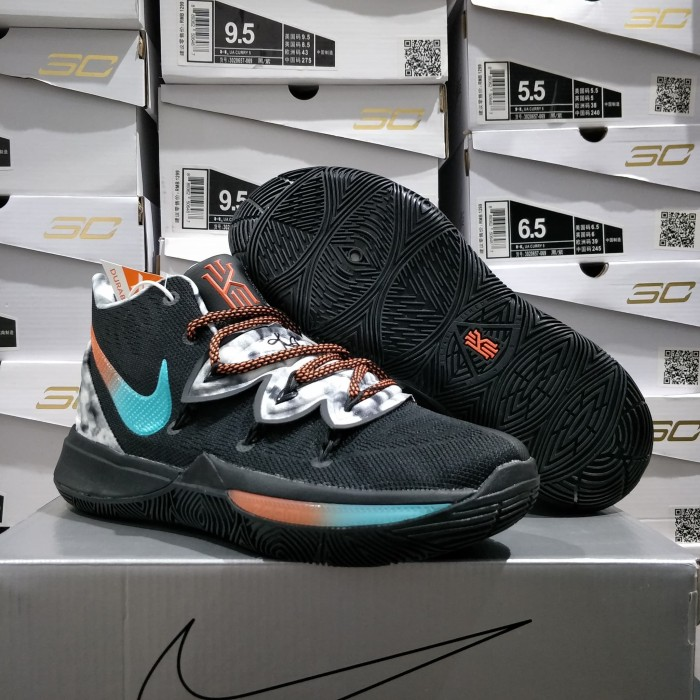 6f41ad7075f Jual sepatu basket nike Kyrie Irving V - kyrie 5 black blue orange ...