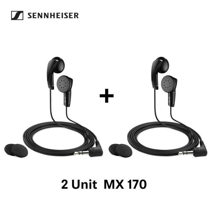Bundling sennheiser mx 170 ( 2 unit)