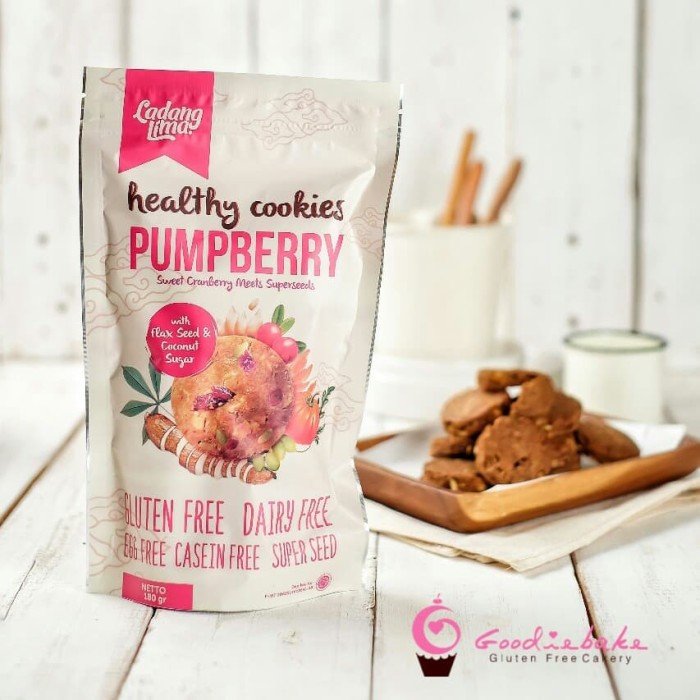Foto Produk Ladang Lima Pumpberry Cookies dari Goodiebake