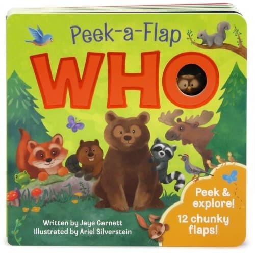 harga Who: peek-a-flaps by jaye garnett Tokopedia.com