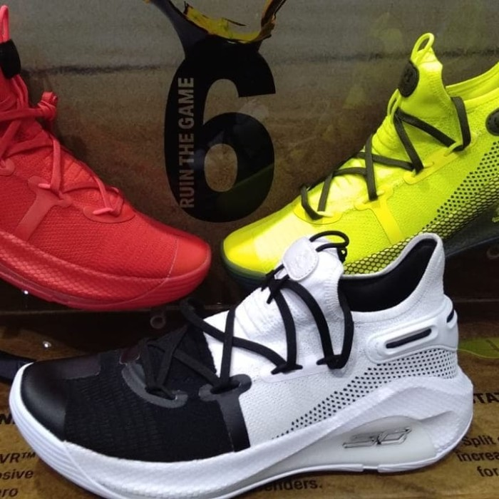 Pre order Under Armour Curry 6 White