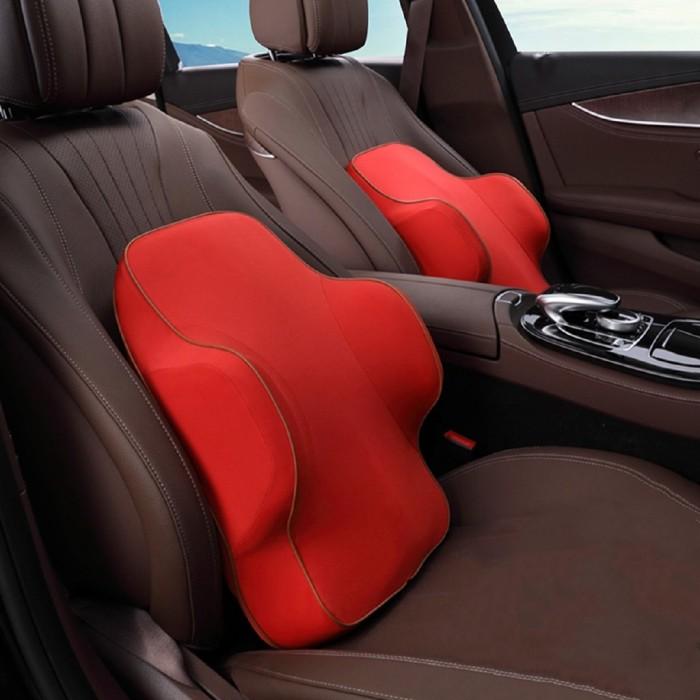 Jual Classic Memory Foam Breathable Healthcare Cushion Car Back Waist Sup Taiga Shop Tokopedia