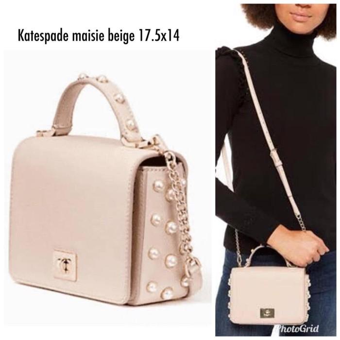 Kate Spade Maisie Serrano Place Pearl Crossbody Handbag
